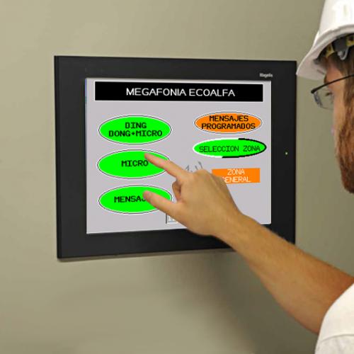 megafonia inalambrica